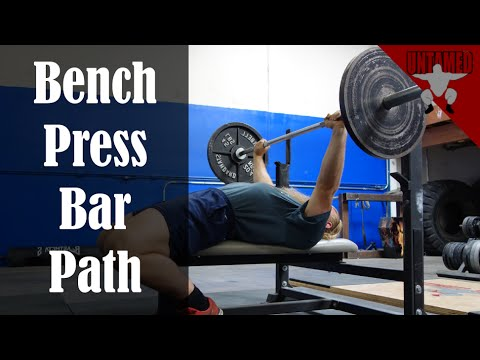 Fix your Bar Path for a Stronger Bench Press
