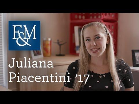 F&M: JULIANA PIACENTINI '17