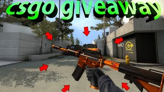 M4A1-S NITRO GIVEAWAY!!! (CSGO GIVEAWAY #1)