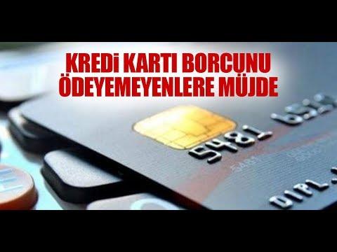 Kredi borcunu ödeyemeyenlere müjde