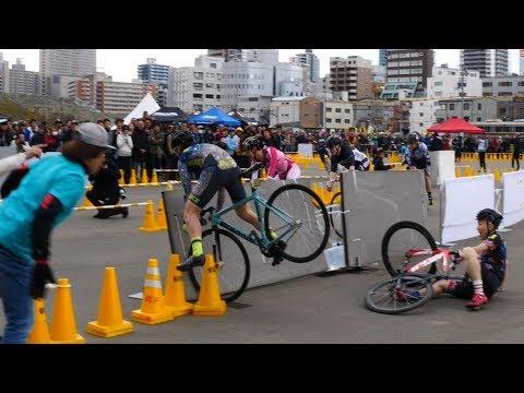 超ハードな自転車バトル競技 バイクロア sfiDARE CRIT OSAKA STAGE Exhibition BIKELORE 2019