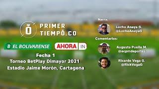 [En Vivo] Real Cartagena vs Cortuluá, fecha 1 Torneo BetPlay