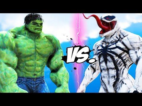 The Incredible Hulk VS Anti-Venom - EPIC BATTLE
