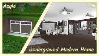 Roblox | Bloxburg: Underground Modern Home (73k)