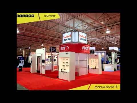Pro-X Event - exhibition and trade show stand builder and supplier in Canada