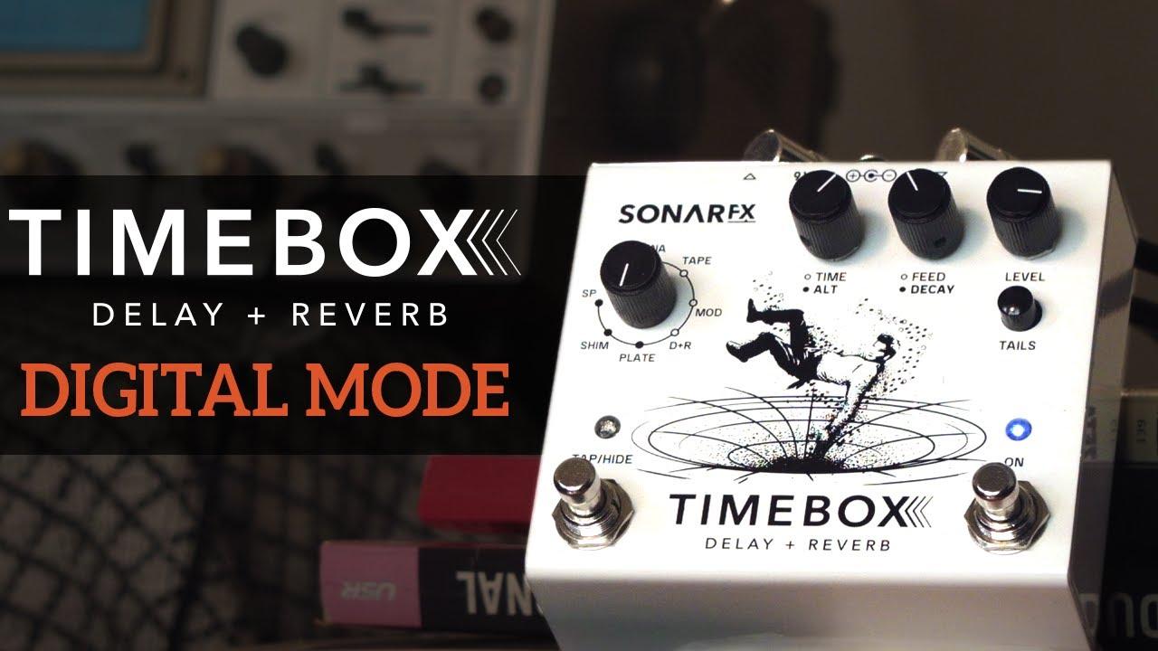 SonAr fx - Timebox Delay + Reverb - Modo Digital