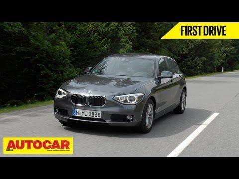 2013 BMW 1 Series Hatchback | First Drive | Autocar India