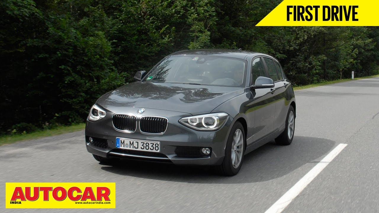 2013 Bmw 1 Series Hatchback First Drive Autocar India Youtube