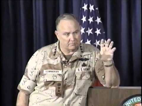 Gen. Schwarzkopf's Famed News Conference