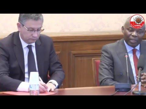 Allocution de M. Vital KAMERHE à l'Assemblée Nationale