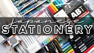 HUGE Japanese Stationery Haul For Bullet Journaling � WITH SWATCHES �
