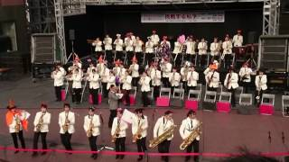 立命館中学高校吹奏楽部 京都駅ビルコンサート2016