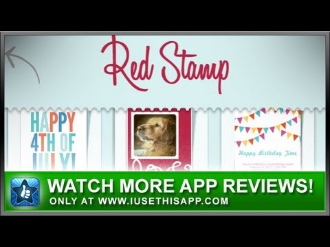 Redstamp cards iphone app review greeting card apps social apps redstamp cards iphone app review greeting card apps social apps m4hsunfo