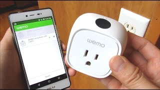 Wemo Insight Smart Plug | Demo and Installation