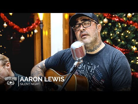 Aaron Lewis - Silent Night (Acoustic Cover) // Country Rebel Christmas Sessions