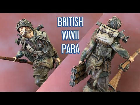 """120mm British WWII Para with 2"""" Mortar"""