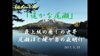 初めての「遥かな尾瀬」⑧ 最上級の癒しの世界 尾瀬沼と燧ケ岳の夜明けにウットリ ^^! thumbnail