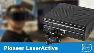 Pioneer LaserActive - Review (PC Engine & Sega Megadrive PACs)