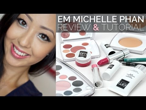 REVIEW: EM Michelle Phan Cosmetics + Bright Smoky Eye Tutorial