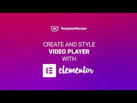 Play Videos In Brand New Elementor Video Player | Embed A Video Player In Elementor Pro