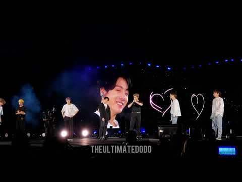190602 ARMYs Sing Young Forever To Surprise BTS @ Speak Yourself Wembley Stadium London Concert