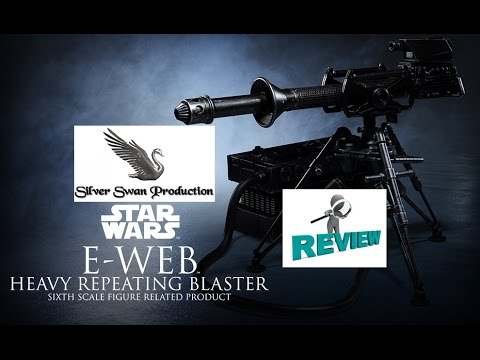 E-Web heavy repeating Blaster sideshow sixth scale collectible review