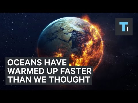 The ocean is warming 70% more per decade than we thought
