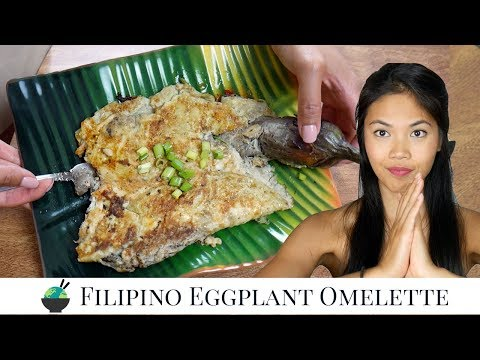 Tortang Talong Recipe   How to Make Filipino Eggplant Omelette