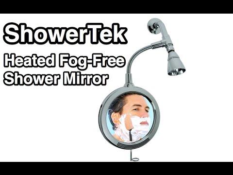 Attrayant ShowerTek Heated Fog Free Shower Mirror