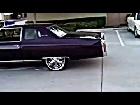 Purple 76 Coupe Deville Youtube