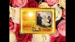 Муз. открытка: Сапфировая свадьба