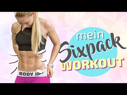 Berühmt SEXY SIXPACK WORKOUT - Übungen für den perfekten Bauch - YouTube &VA_39