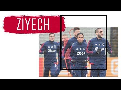 Hakim Ziyech: 'Trots op Justin Kluivert'