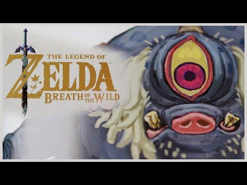 Art Of Zelda Breath Of The Wild - Realizing A World Through A Child's Eyes | 4K