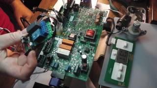 Ремонт платы управления Protherm Gepard/PCB Repair by Protherm Gepard