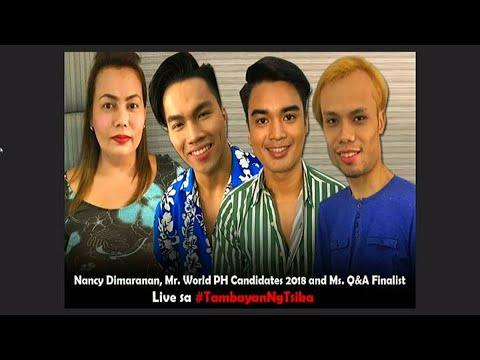 Mr World PH 2018 Candidates & Ms Q&A Finalist sa Tambayan Ng Tsika Tonite!