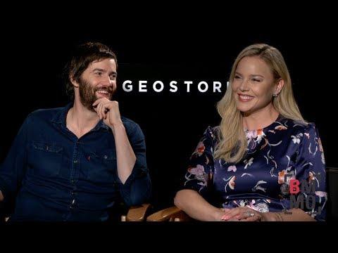 Jim Sturgess & Abbie Cornish Interview - Geostorm