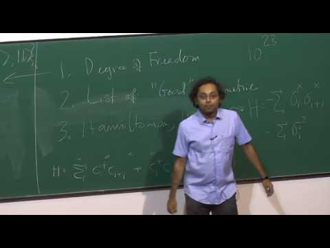 Spin Liquids I   Prof  Subhro Bhattacharjee