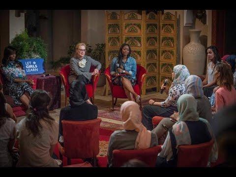 Morocco's #LetGirlsLearn girls