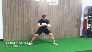 Cosak Squat - Beginner