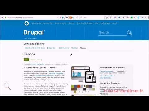 Lezione 1 - Drupal 7 - Views Slideshow e Flexslider