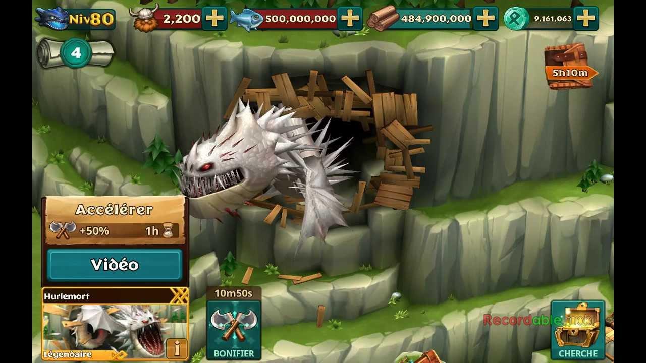 dragon lenvol de beurk sur pc