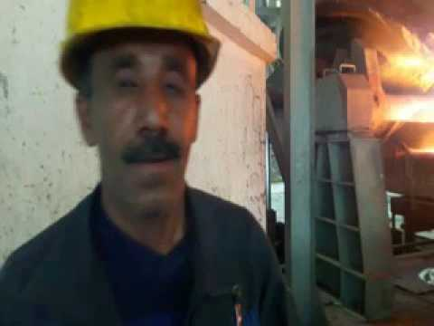 Saindak copper gold project smelter being casting