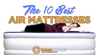Air Mattress: Top 10 Best Air Mattresses Video Reviews (2019 NEWEST)