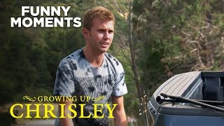 Growing Up Chrisley | Chase Fails At Changing A Flat Tire | Season 2 Episode 7 | Chrisley knows Best
