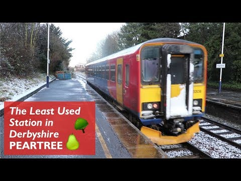 Peartree 🍐🌳 - Least Used Station in Derbyshire