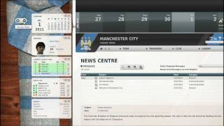 Let's Play FIFA Manager 12: Part 1 - Manchester City