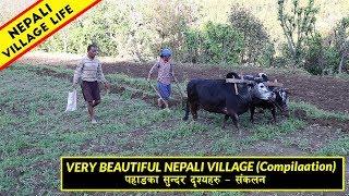 Best Top Four Nepali Village Life Videos   IamSuman