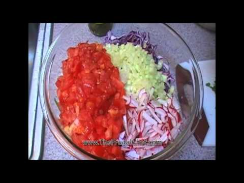 How To Make A Fresh Cabbage Salsa