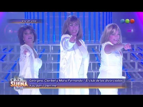 Georgina, Claribel y Fernanda Callejón son El club de las divorciadas - Tu Cara Me Suena 2014